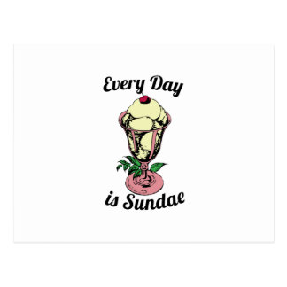 Every Day is Sundae Postcards