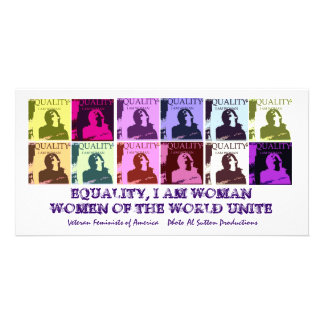 EVERY DAY IS WOMEN'S EQUALITY DAY PHOTO CARD TEMPLATE