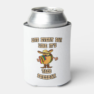 Every Day Tacos HHM Beverage Can Cooler