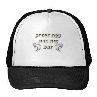Every Dog Has His Day Mesh Hat
