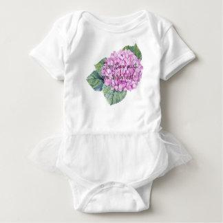 Every flower must grow through dirt baby bodysuit
