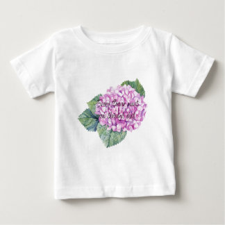 Every flower must grow through dirt baby T-Shirt