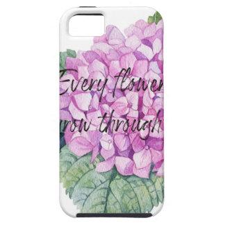 Every flower must grow through dirt iPhone 5 case