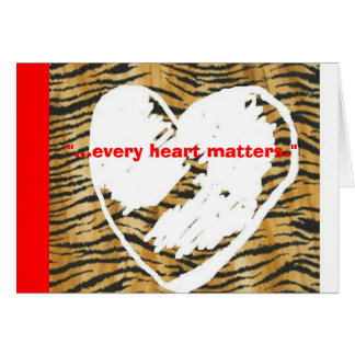 Every Heart Matters Card