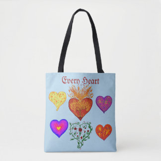 Every Heart Tote Bag