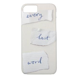 Every Last Word Phone Case