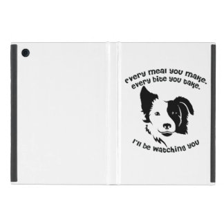 Every meal you make Border Collie iPad Mini Cover