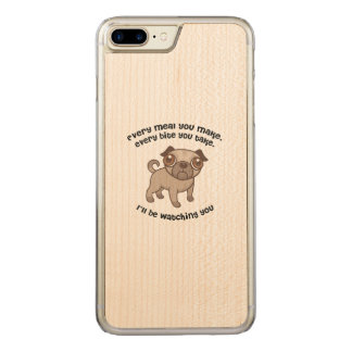 Every meal you make pug carved iPhone 8 plus/7 plus case