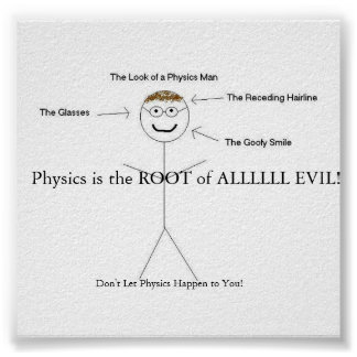 Every Physics Teacher Poster
