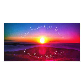 """Every Sunrise"" Quote Print"