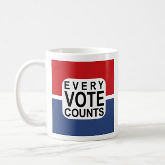 Every Vote Counts mug