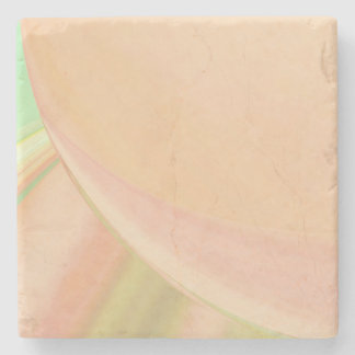 Every Which Way Peach Stone Coaster