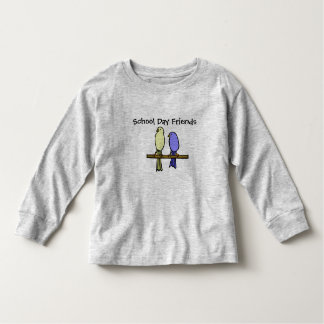 Everybirdie Back To School TShirt for Toddlers