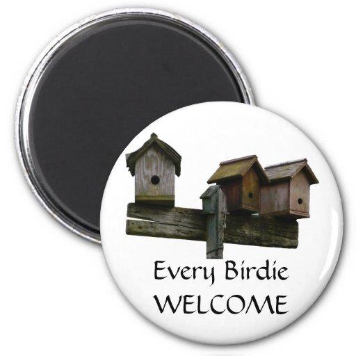 EveryBirdie Welcome Fridge Magnet