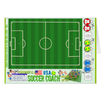 Everybody is a USA Soccer Coach Strategy Kit Card