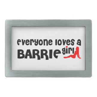 Everybody loves a Barrie Girl Belt Buckles