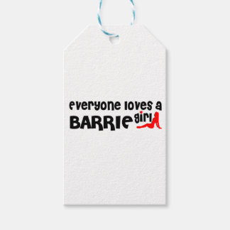 Everybody loves a Barrie Girl Gift Tags