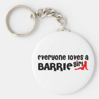 Everybody loves a Barrie Girl Key Ring