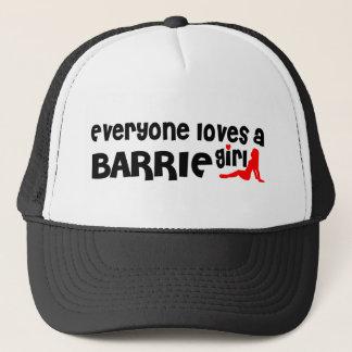 Everybody loves a Barrie Girl Trucker Hat