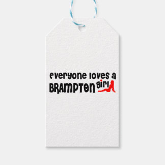 Everybody loves a Brampton Girl Gift Tags