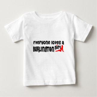 Everybody loves a Burlington Girl Baby T-Shirt