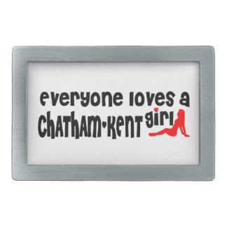 Everybody loves a Chatham-Kent Girl Belt Buckle