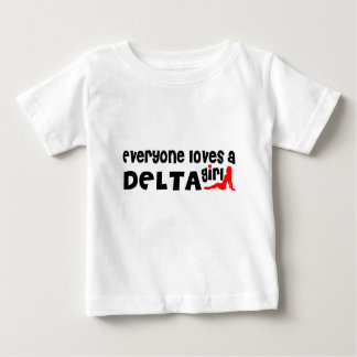 Everybody loves a Delta Girl Baby T-Shirt