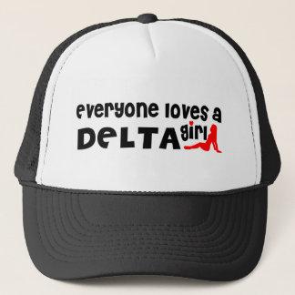 Everybody loves a Delta Girl Trucker Hat