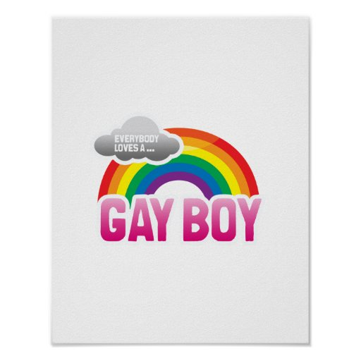 EVERYBODY LOVES A GAY BOY POSTERS