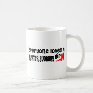 Everybody loves a Greater Sudbury Girl Coffee Mug