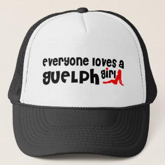 Everybody loves a Guelph Girl Trucker Hat