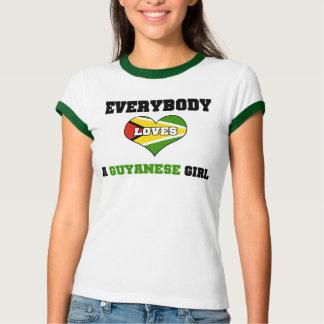 Everybody loves a Guyanese Girl T-Shirt