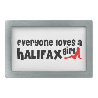 Everybody loves a Halifax Girl Belt Buckle