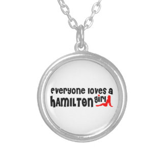 Everybody loves a Hamilton Girl Silver Plated Necklace