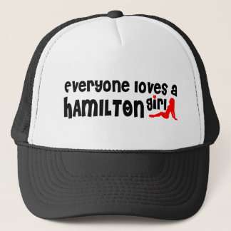Everybody loves a Hamilton Girl Trucker Hat