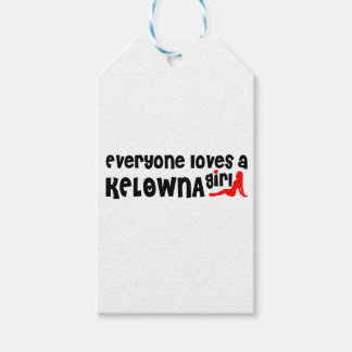 Everybody loves a Kelowna Girl Gift Tags
