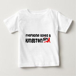 Everybody loves a Kingston Girl Baby T-Shirt