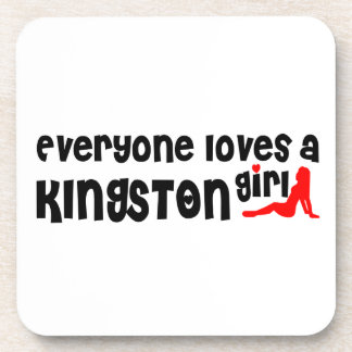 Everybody loves a Kingston Girl Coaster