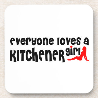 Everybody loves a Kitchener Girl Coaster