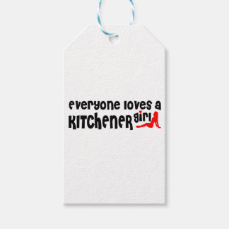 Everybody loves a Kitchener Girl Gift Tags