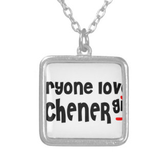 Everybody loves a Kitchener Girl Silver Plated Necklace
