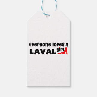 Everybody loves a Laval Girl Gift Tags
