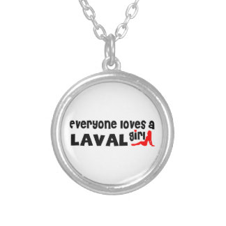 Everybody loves a Laval Girl Silver Plated Necklace