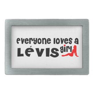Everybody loves a Lévis Girl Rectangular Belt Buckles