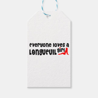 Everybody loves a Longueuil Girl Gift Tags