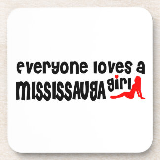 Everybody loves a Mississauga Girl Coaster