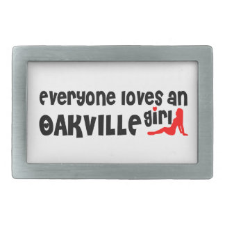 Everybody loves a Oakville Girl Belt Buckle