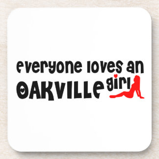 Everybody loves a Oakville Girl Coaster