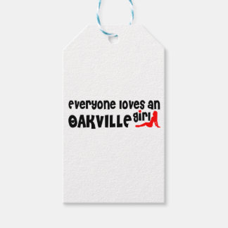 Everybody loves a Oakville Girl Gift Tags