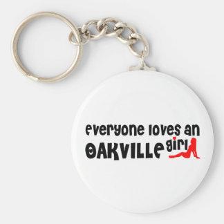 Everybody loves a Oakville Girl Key Ring